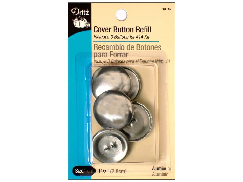 Cover Button Refill by Dritz 1 1/8 in. 3 pc.
