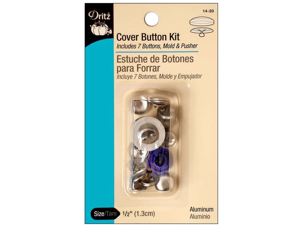 Dritz Cover Button Kit - 1/2 in.