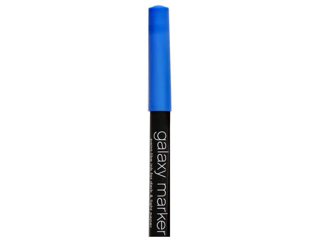 American Crafts Galaxy Marker Broad Tip Bright Blue