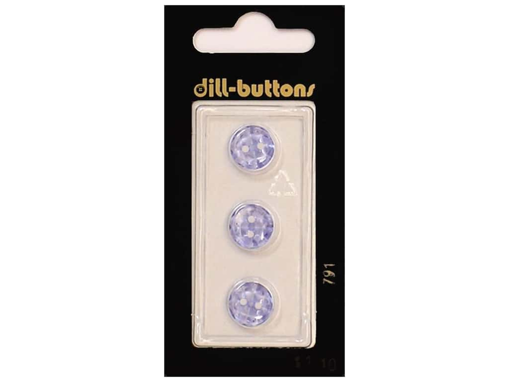 Dill 2 Hole Buttons 7/16 in. Lilac #791 3 pc.