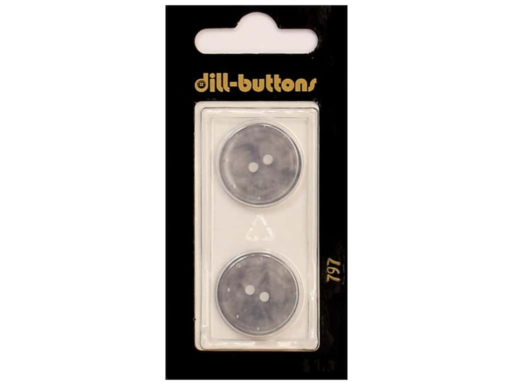 Dill 2 Hole Buttons 13/16 in. Lilac  #797 2 pc.