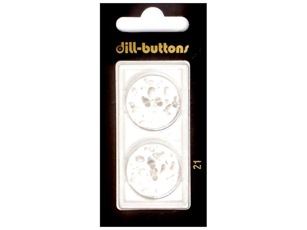 Dill Shank Buttons 7/8 in. Transparent #21 2 pc.