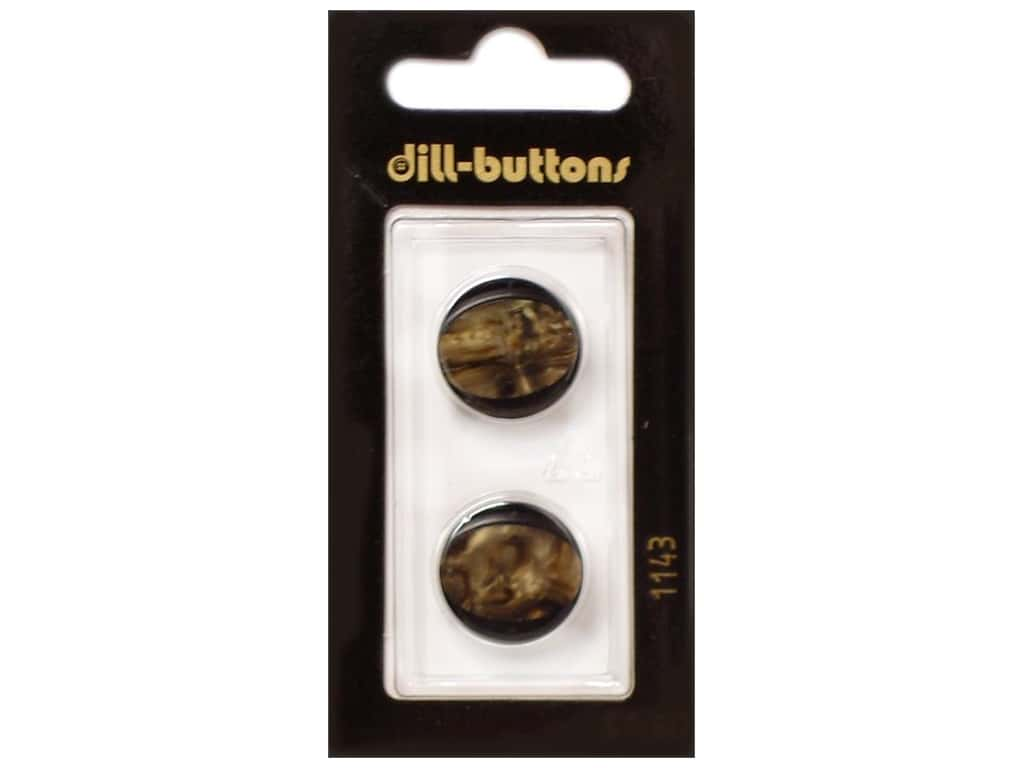 Dill Shank Buttons 11/16 in. Brown #1143 2 pc.