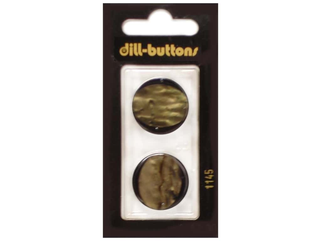 Dill Shank Buttons 7/8 in. Brown #1145 2 pc.