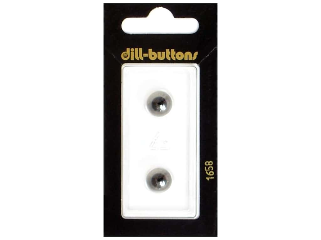 Dill Shank Buttons 3/8 in. Transparent #1658 2 pc.