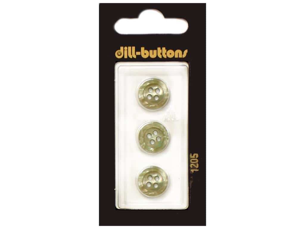 Dill 4 Hole Buttons 1/2 in. Beige #1205 3 pc.