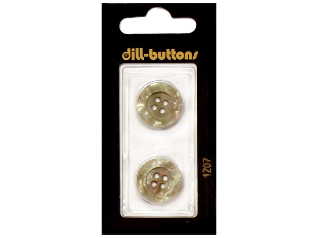 Dill 4 Hole Buttons 11/16 in. Beige #1207 2 pc.