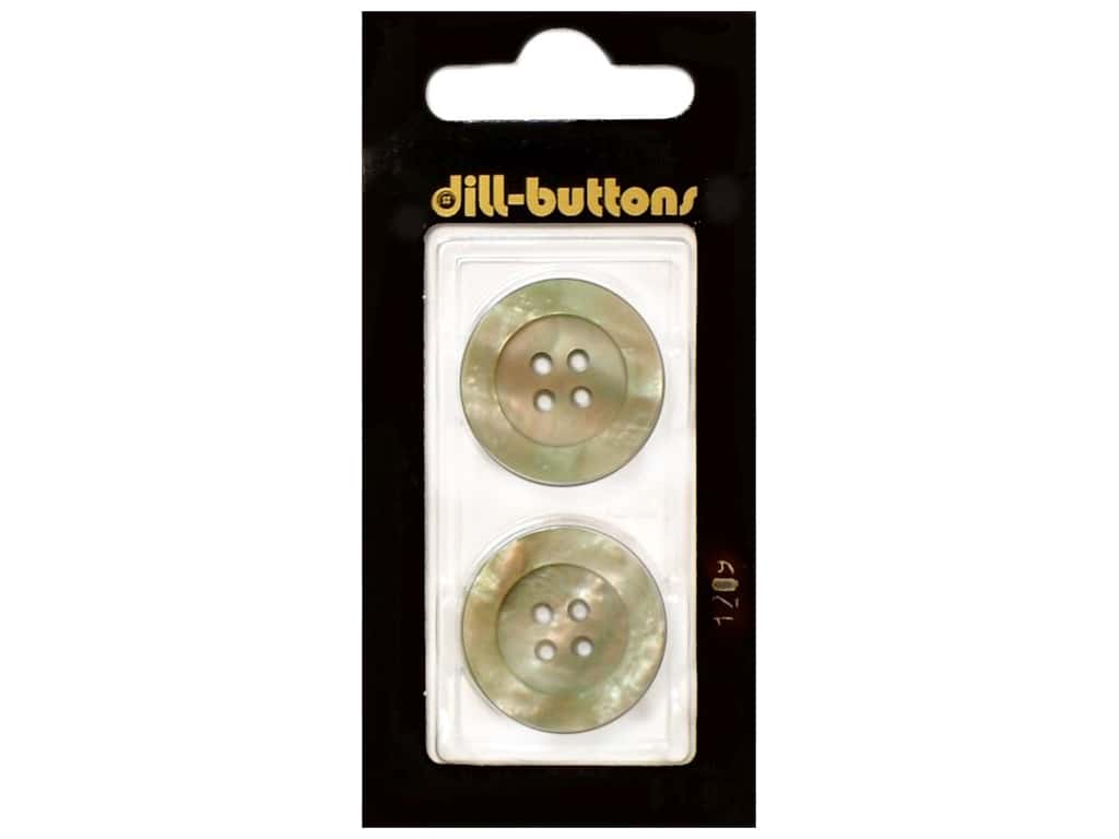 Dill 4 Hole Buttons 7/8 in. Beige #1209 2 pc.