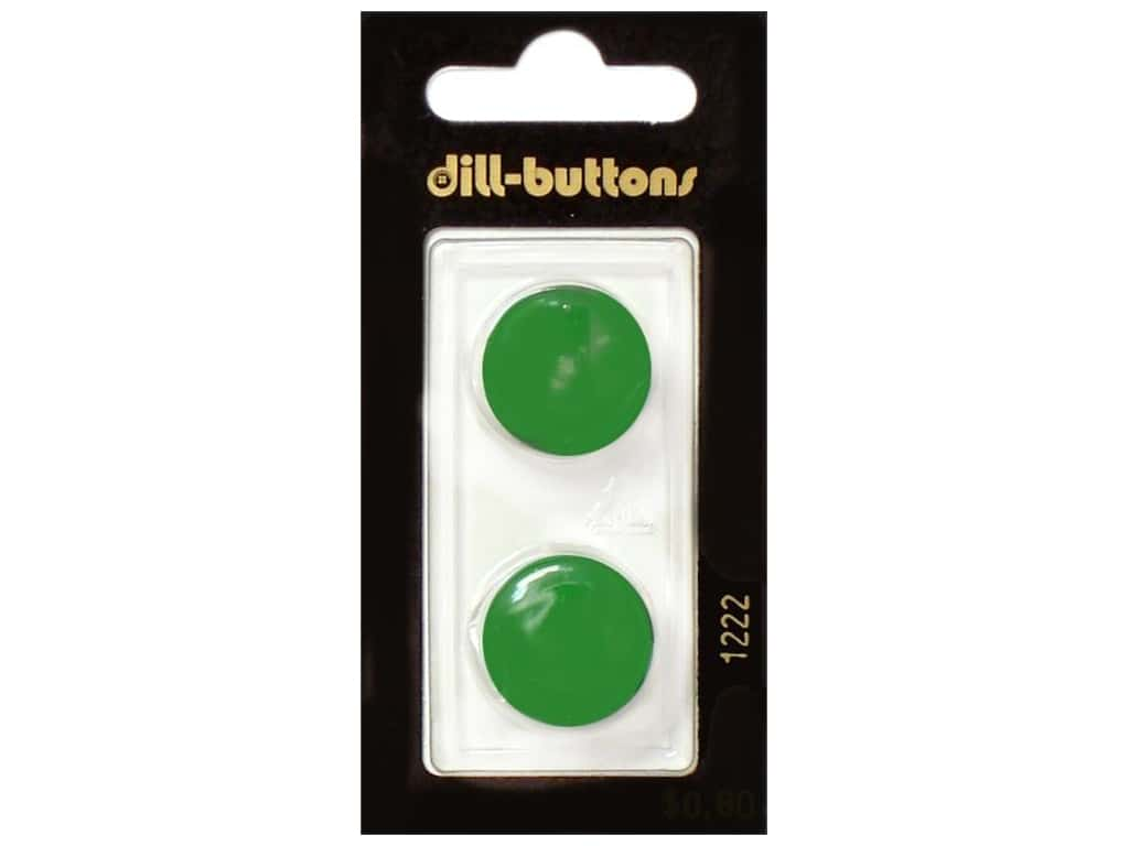 Dill Shank Buttons 3/4 in. Green #1222 2 pc.