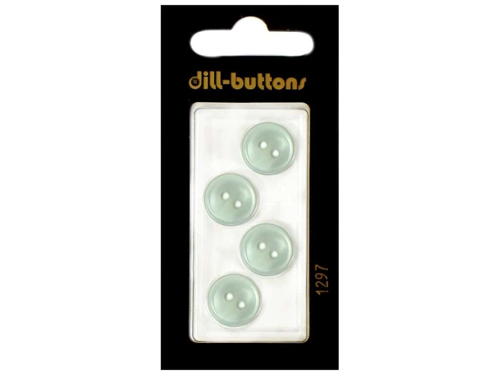 Dill 2 Hole Buttons 1/2 in. Blue #1297 4 pc.