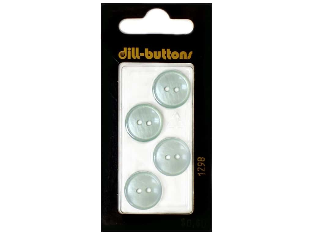 Dill 2 Hole Buttons 5/8 in. Blue #1298 4 pc.