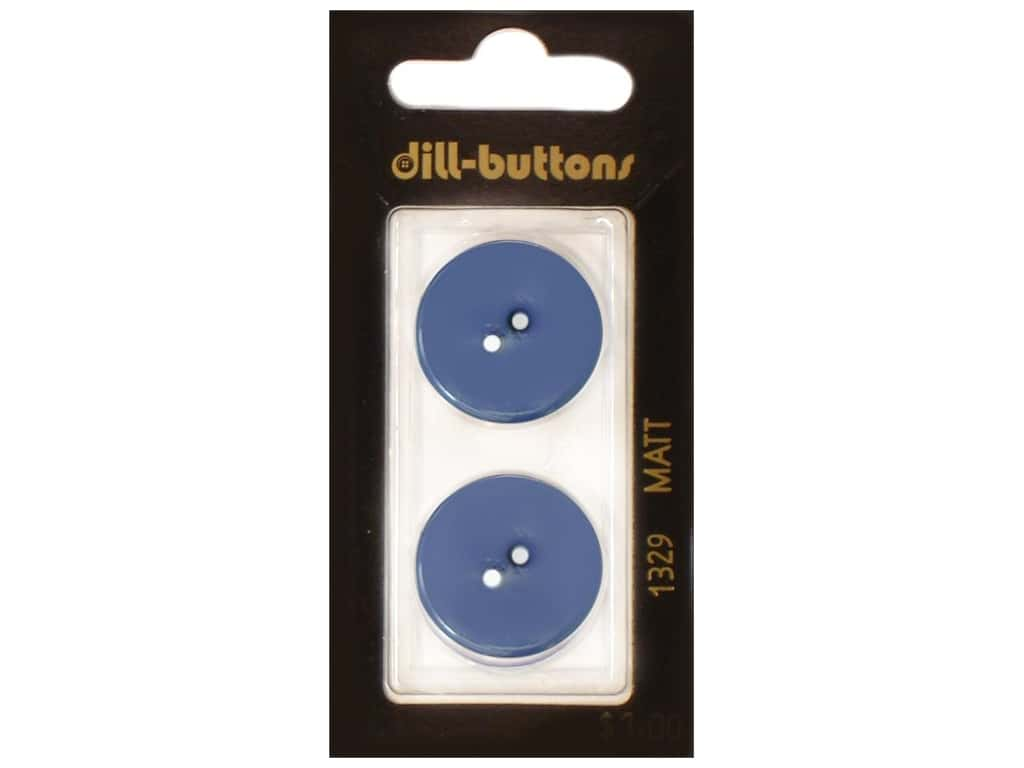 Dill 2 Hole Buttons 7/8 in. Royal Blue #1329 2 pc.