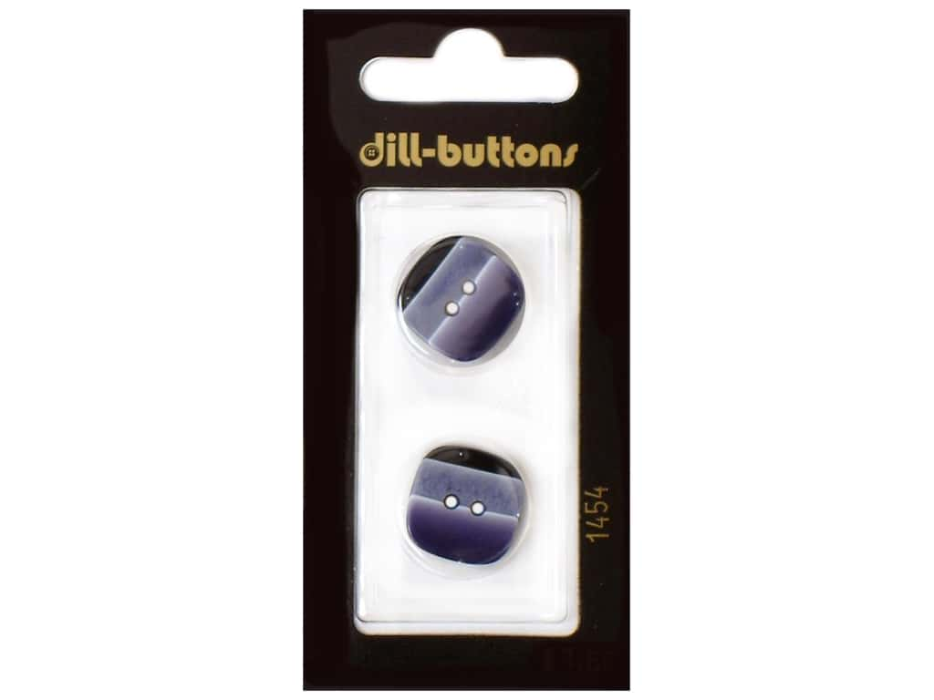 Dill 2 Hole Buttons 11/16 in. Navy #1454 2 pc.
