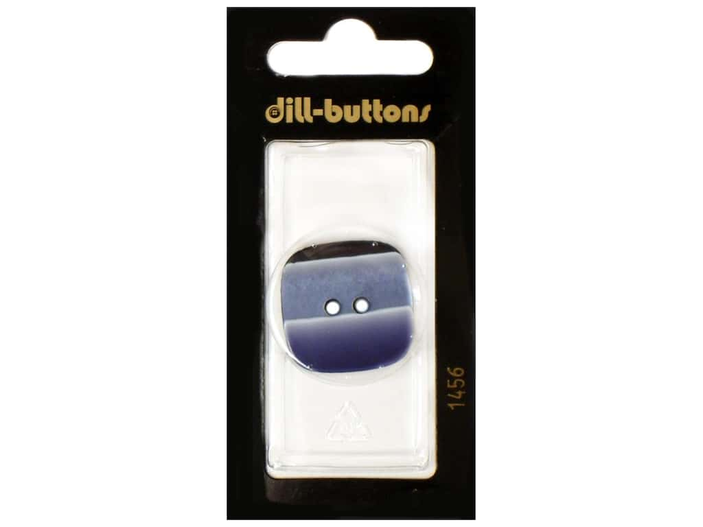 Dill 2 Hole Buttons 1 1/8 in. Navy #1456 1 pc.