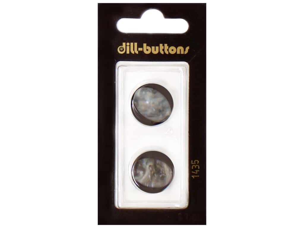 Dill Shank Buttons 11/16 in. Navy #1435 2 pc.