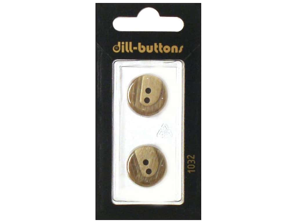 Dill 2 Hole Buttons 11/16 in. Beige #1032 2 pc.