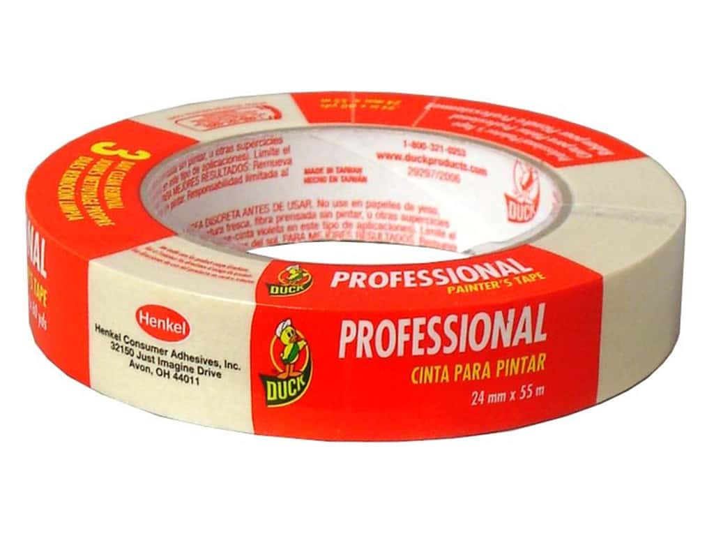 "Duck Brand Professional Painter's Masking Tape .94""x 60yd"