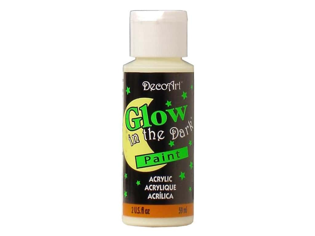 DecoArt Glow In The Dark Paint 2 oz
