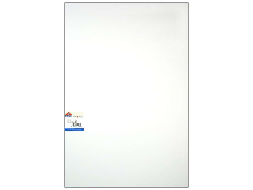 "Elmer's Foam Board White 20""x 30""x 3/16"" (25 sheets)"