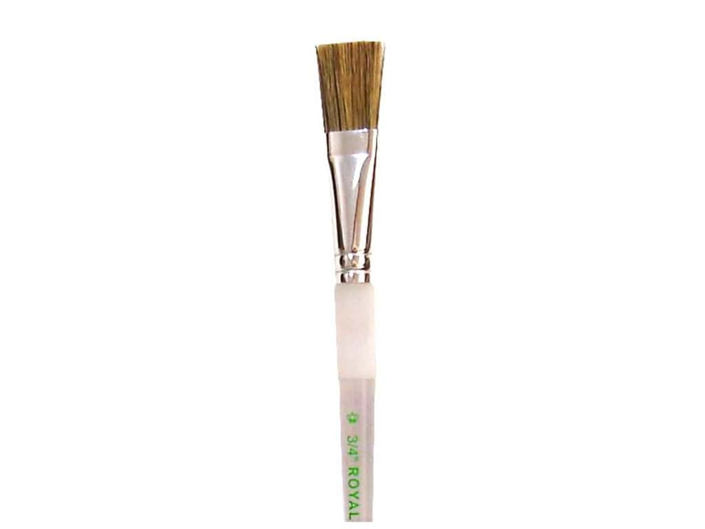 Royal Soft Grip Hog Bristle Paint Brush - Glaze 3/4 in.