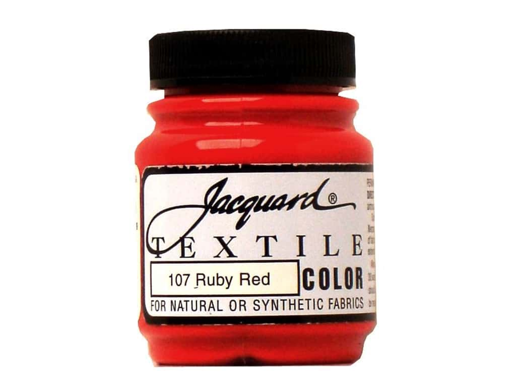 Jacquard Textile Color 2.25 oz. Ruby Red