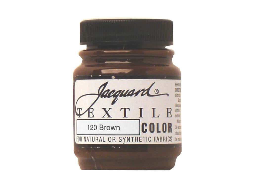Jacquard Textile Color 2.25 oz. Brown
