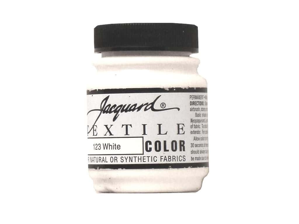 Jacquard Textile Color 2.25 oz. White