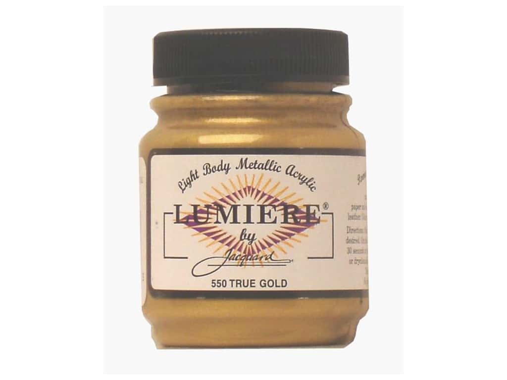 Jacquard Lumiere Paint 2.25 oz. #550 True Gold