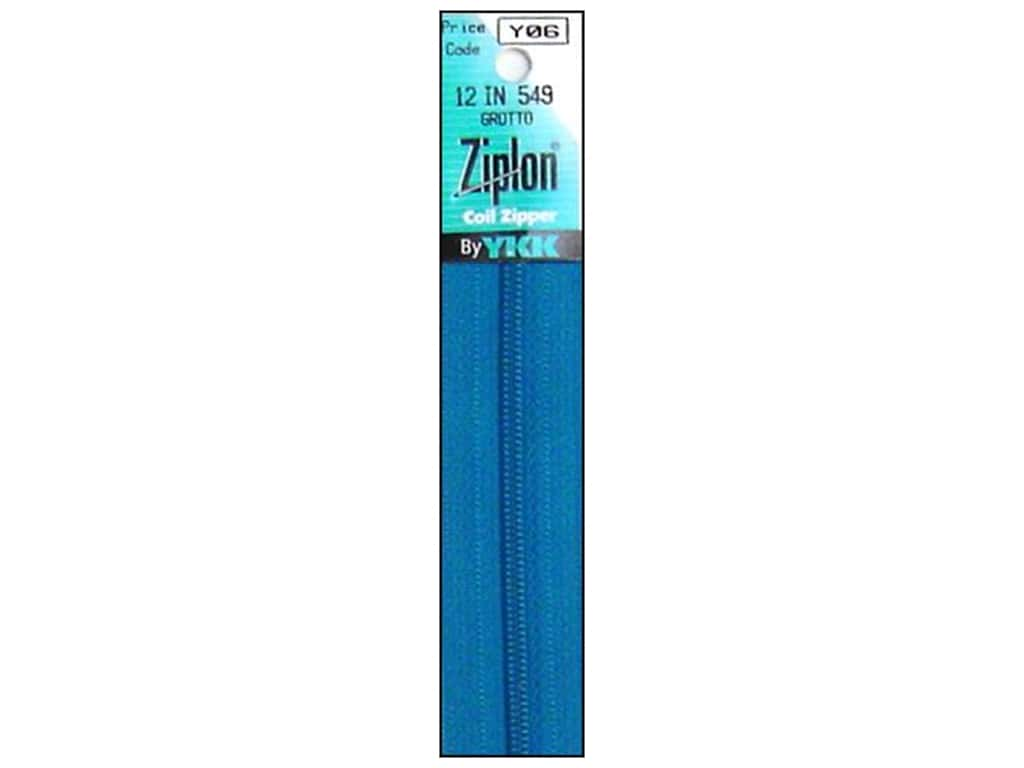 YKK Ziplon Coil Zipper 12 in. Grotto