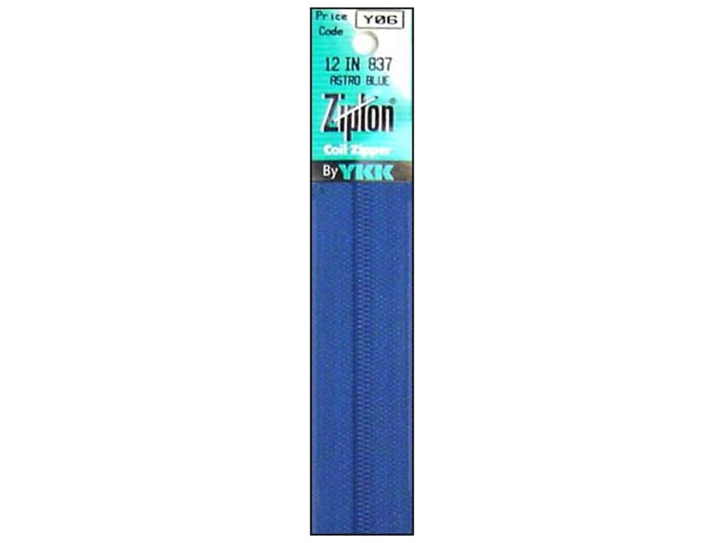 YKK Ziplon Coil Zipper 12 in. Astro Blue
