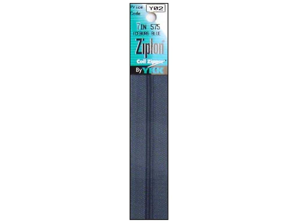 YKK Ziplon Coil Zipper 7 in. Iceburg Blue