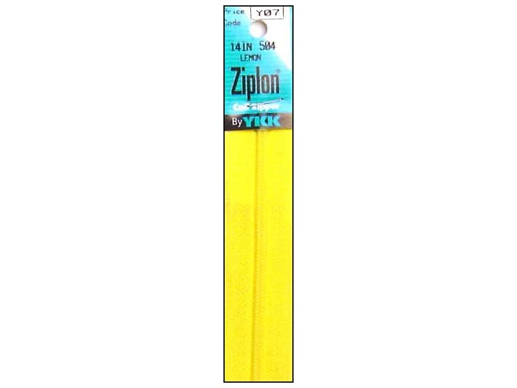 YKK Ziplon Coil Zipper 14 in. Lemon