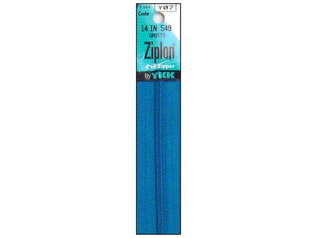 YKK Ziplon Coil Zipper 14 in. Grotto