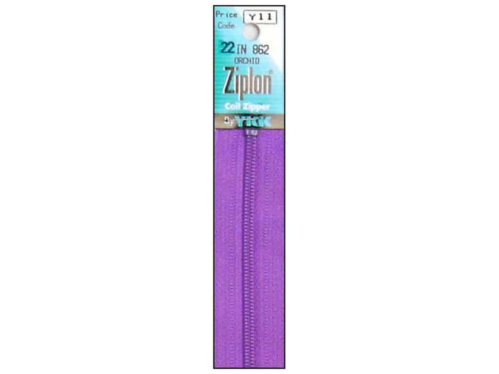 YKK Ziplon Coil Zipper 22 in. Orchid