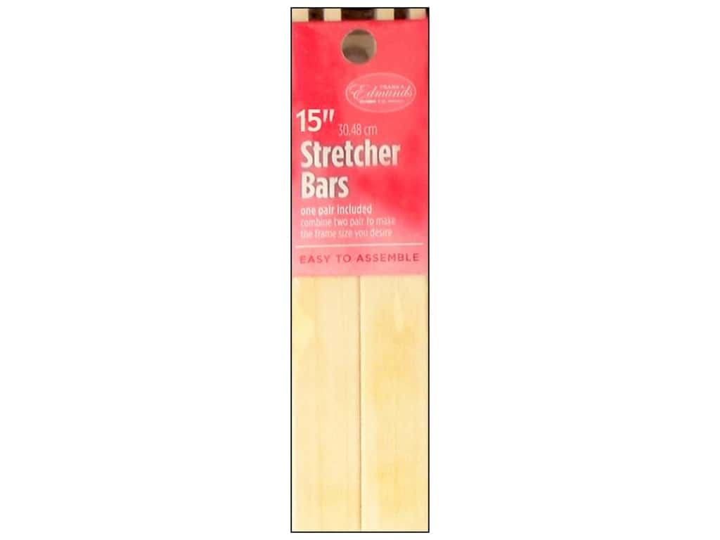 F. A. Edmunds Stretcher Bars 15 in. 2 pc.