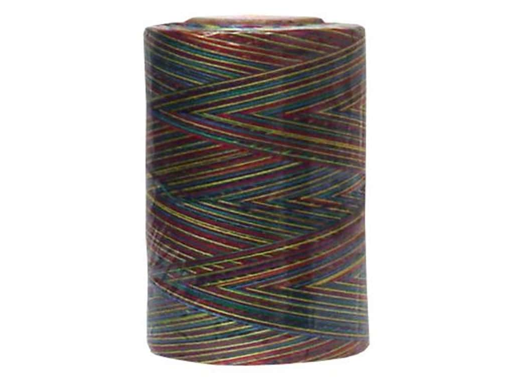 Coats & Clark Star Variegated Mercerized Cotton Quilting Thread 1200 yd. #887 Jewels