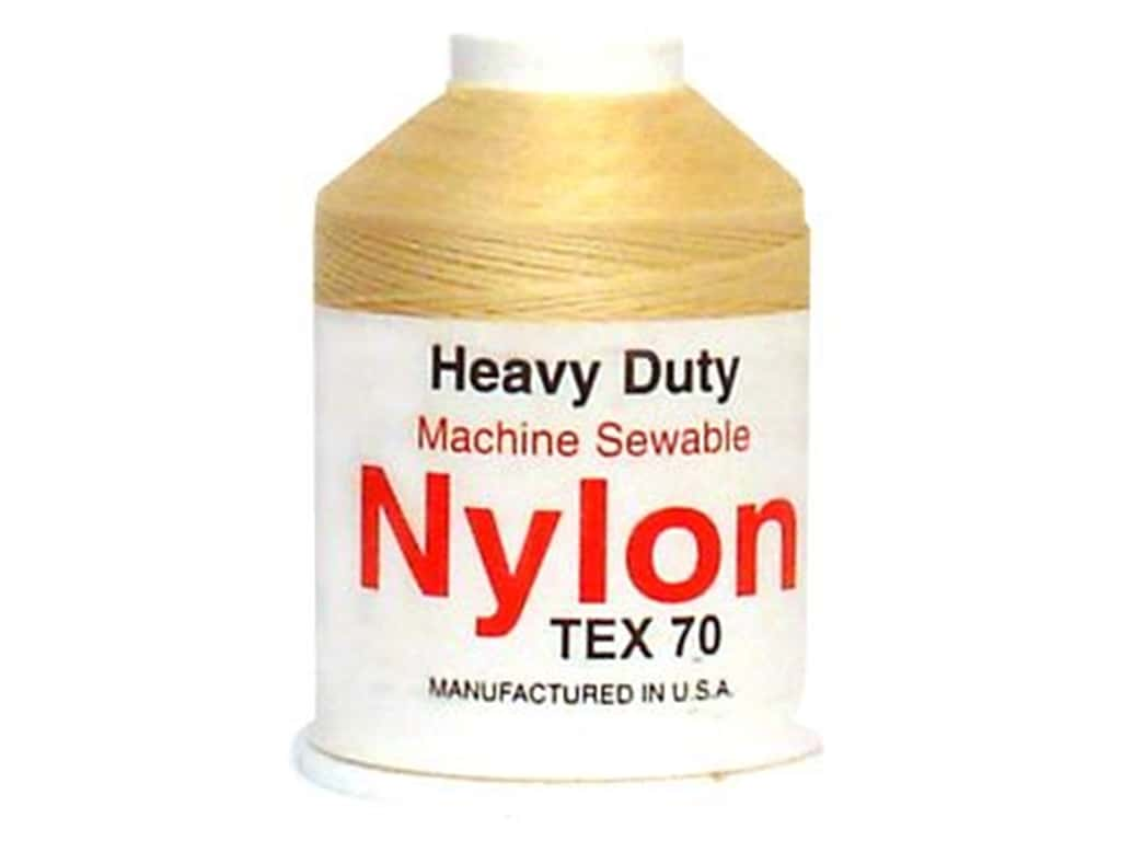 Super Tuff Nylon Upholstery Thread 300 yd. Natural