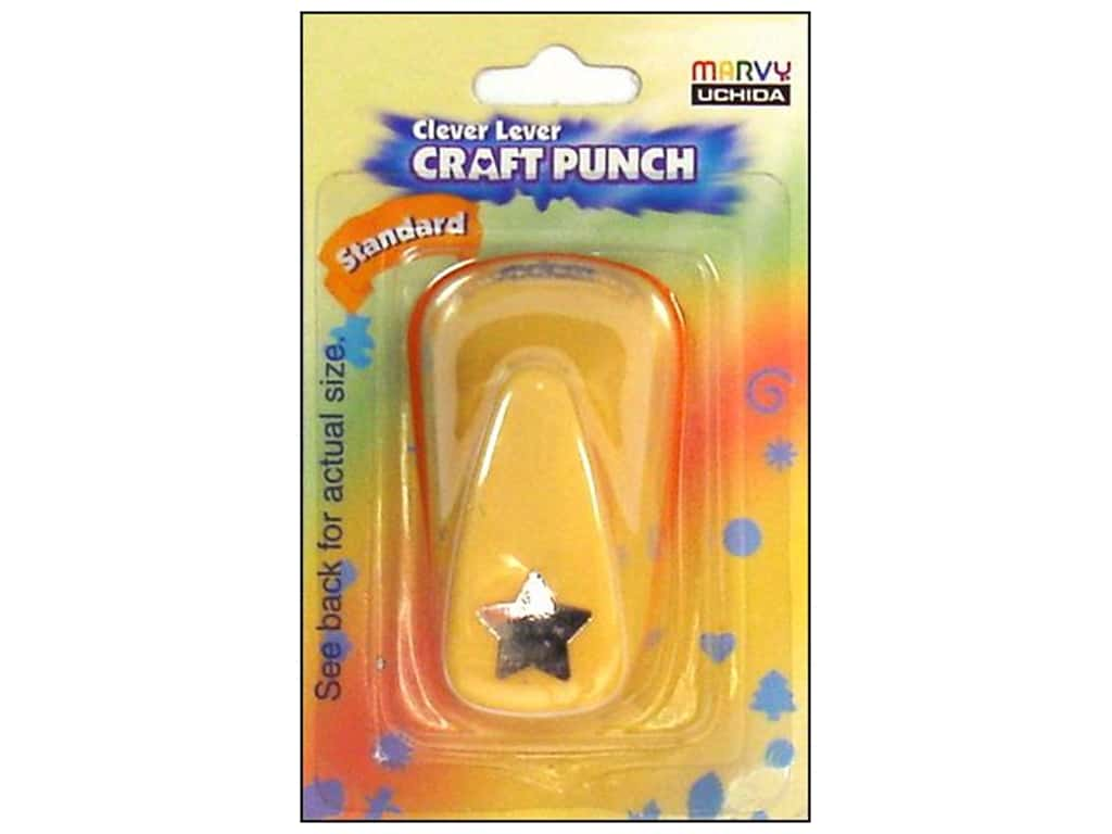 Uchida Clever Lever Craft Punch 5/8 in. Star