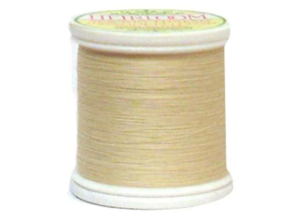 YLI Heirloom Cotton Thread 100 wt. 200 yd. Light Natural