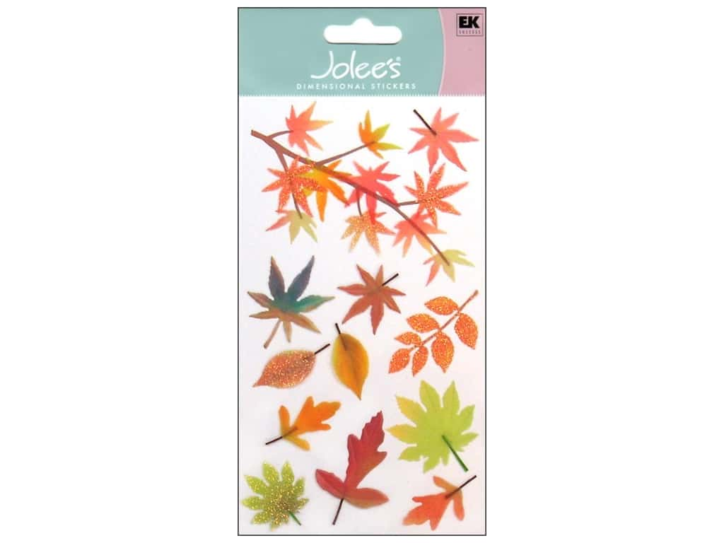 Jolee's Vellum Stickers Fall Leaves
