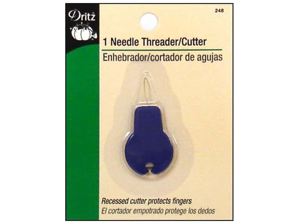 Dritz Needle Threader with Cutter