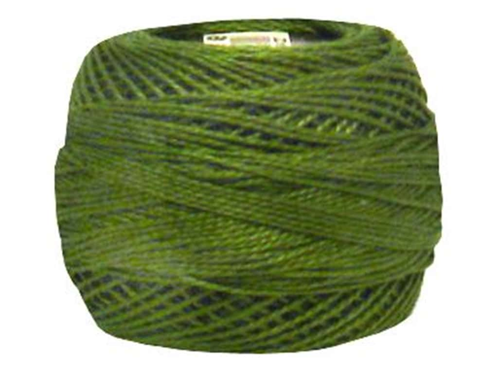 DMC Pearl Cotton Ball Size 8 #0469 Avocado Green (10 balls)