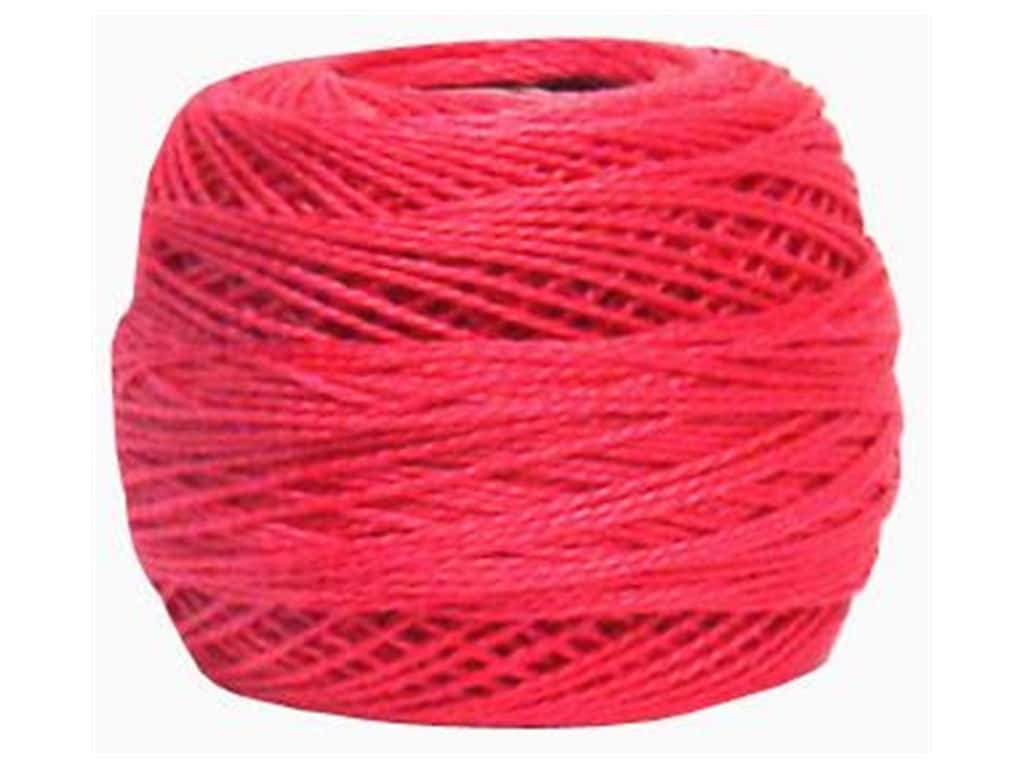 DMC Pearl Cotton Ball Size 8 #0602 Medium Cranberry (10 balls)