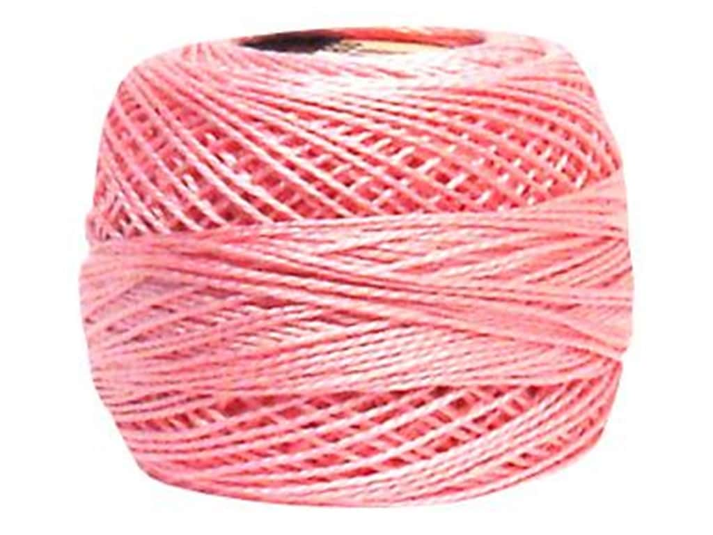 DMC Pearl Cotton Ball Size 8 #0605 Very Light Cranberry (10 balls)