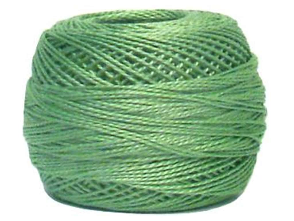 DMC Pearl Cotton Ball Size 8 #0368 Light Pistachio Green (10 balls)