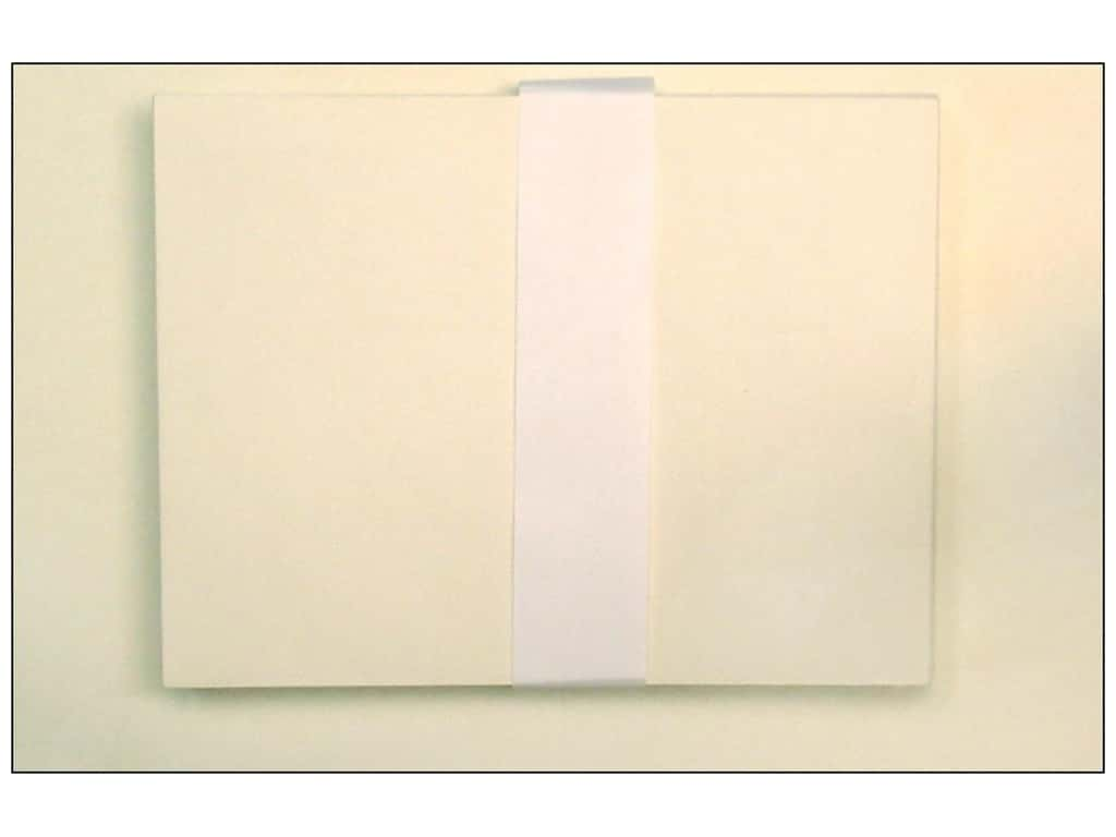 Paper Accents Blank Card & Envelopes - 4 1/4 x 5 1/2 in. - Cream 50 pc.