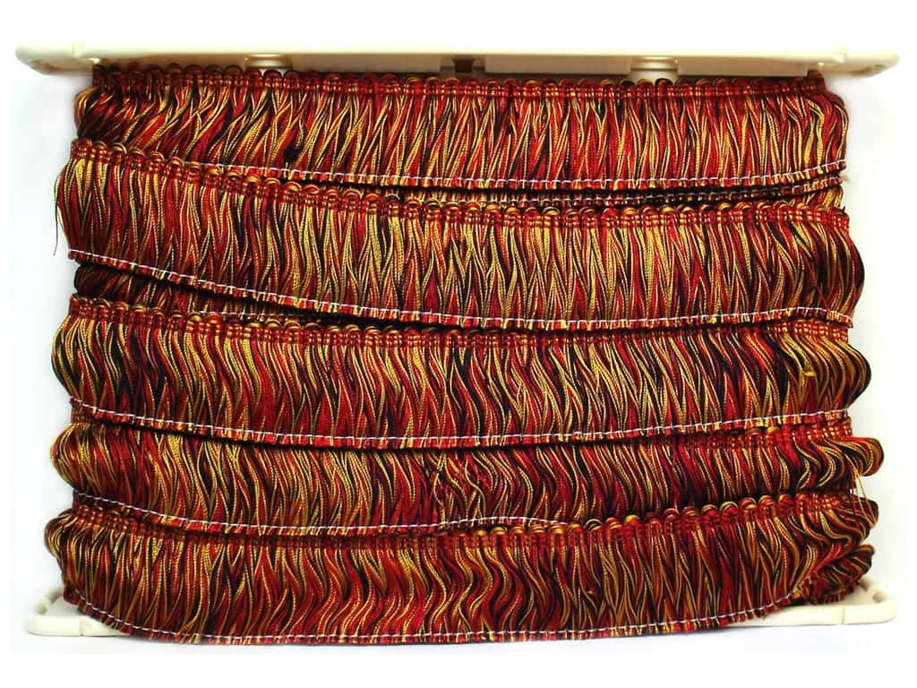 Conso Alexander Brush Fringe 2 in.  Scarab (12 yards)