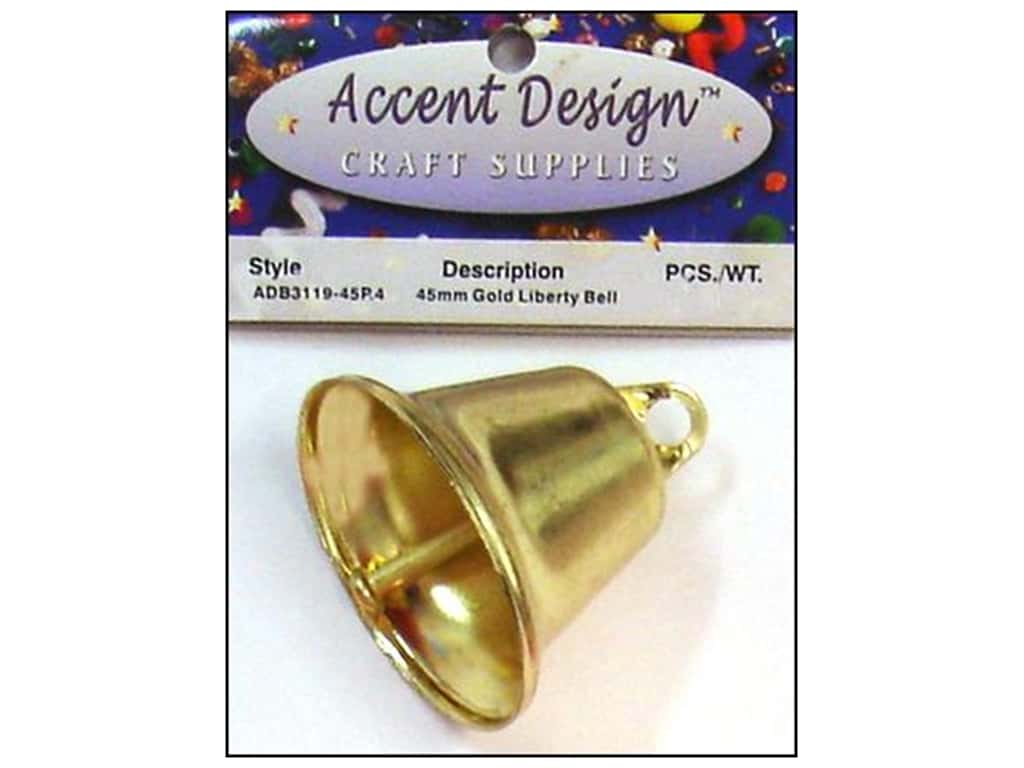 PA Essentials Liberty Bell 1 3/4 in. 1 pc. Gold