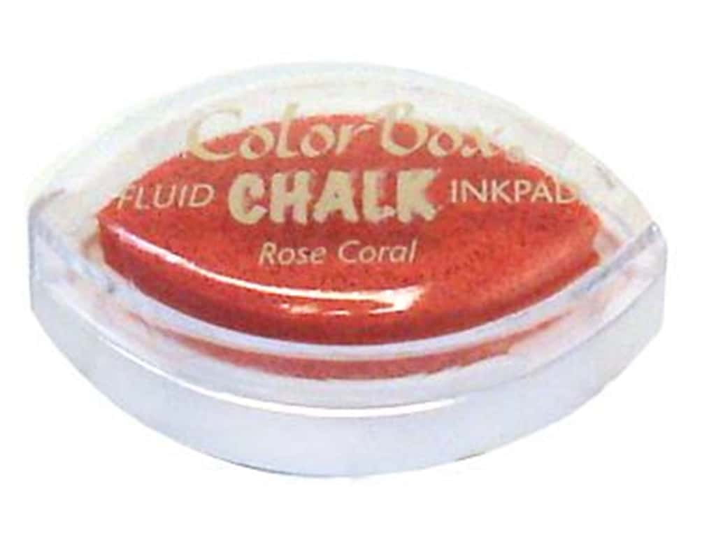 ColorBox Fluid Chalk Ink Pad Cat's Eye Rose Coral