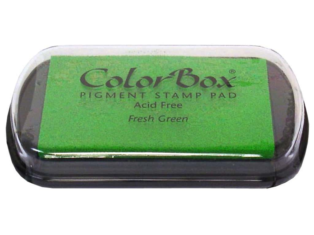 Colorbox Full Size Pigment Inkpad Fresh Green